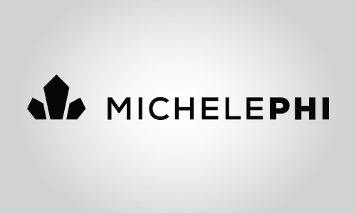 MichelePhi logo with a horizontal layout.